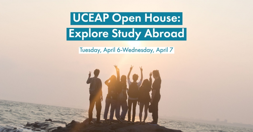 UCEAP Open House: Explore Study Abroad