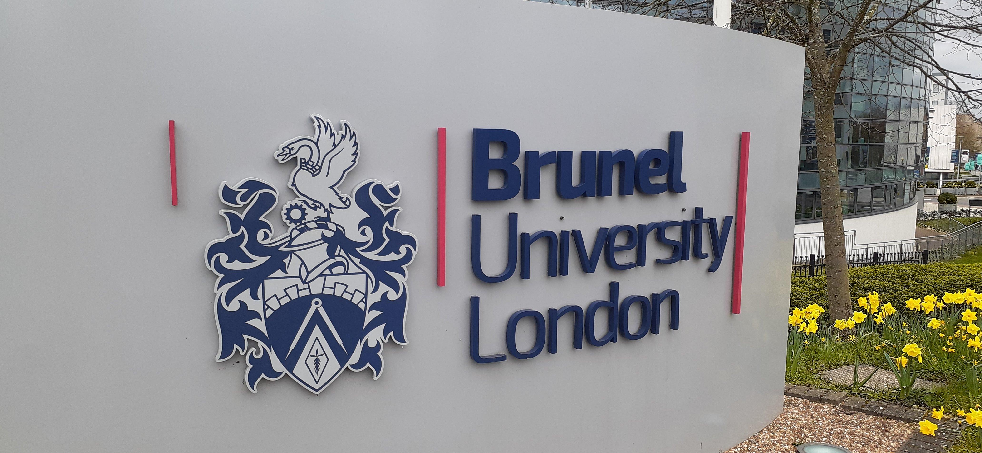 Brunel University sign