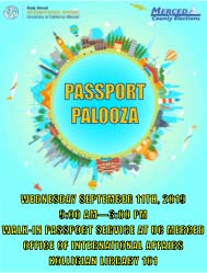 Passport Palooza Flyer