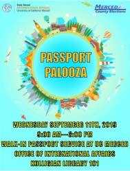 Passport Palooza Flyer
