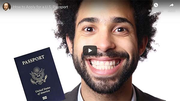 How to Apply for a US Passport video