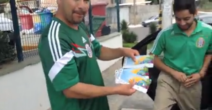 My Study Abroad Experience (Brazil vs Mexico: FIFA World Cup 2014)