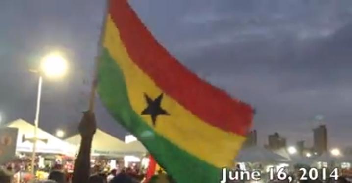 My Study Abroad Experience (USA vs Ghana: FIFA World Cup 2014)