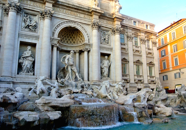Photo of the Trevi Fountain in Rome by Jamie Melara