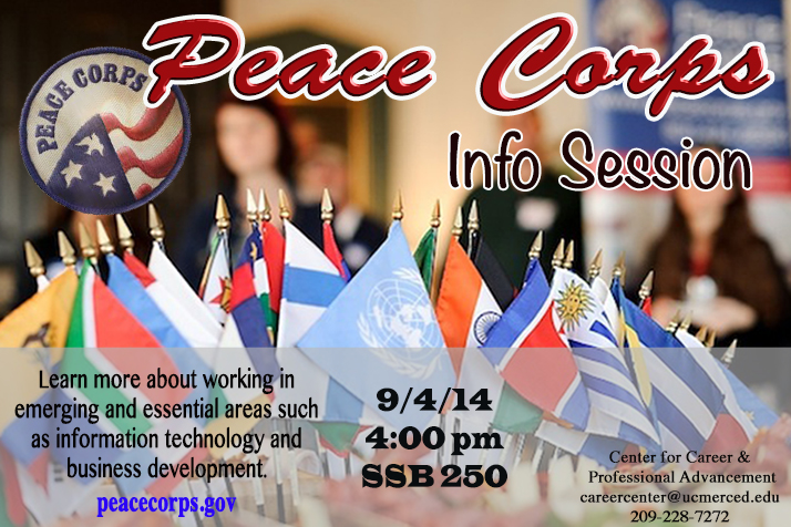 Peace Corps Flyer