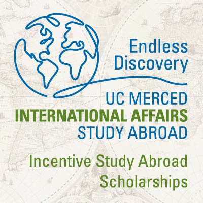UC Merced-UC Education Abroad Program Incentive Study Abroad Scholarships Logo