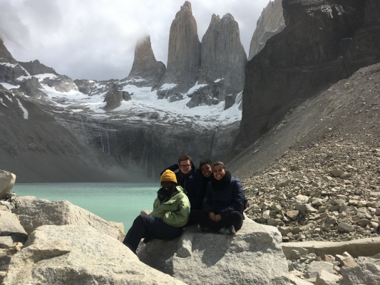 Elizabeth and Friends in Patagonia