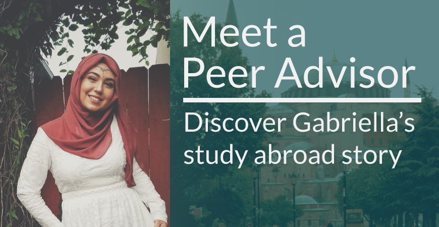 Meet a Peer Advisor