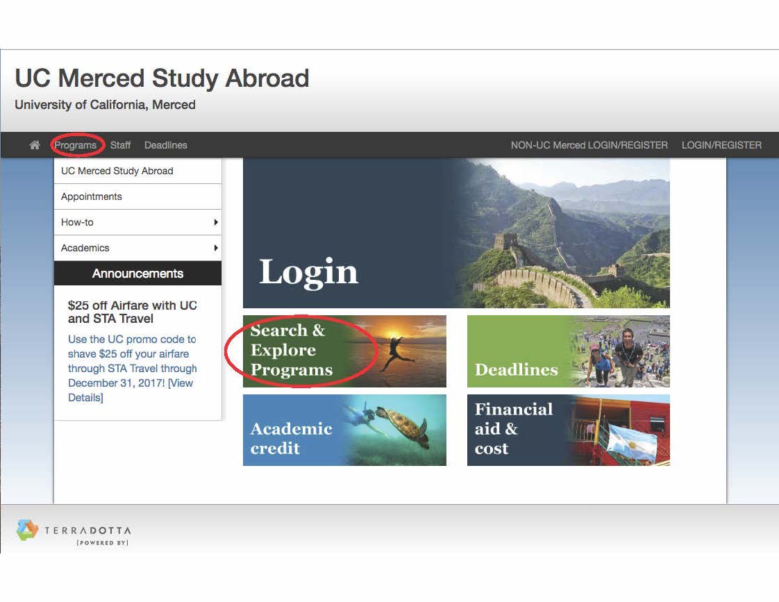 Program Search Link