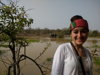 Sophia in Ghana