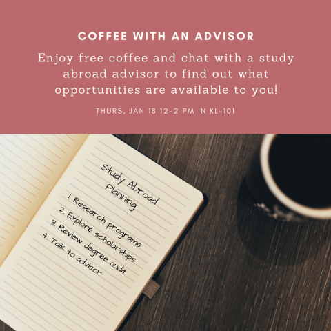 Coffee with an Advisor