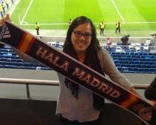 UC Merced student in Madrid