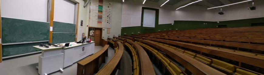 Empty Classroom at the University of Edinburgh
