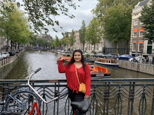 Walking around Amsterdam and its breathtaking canals